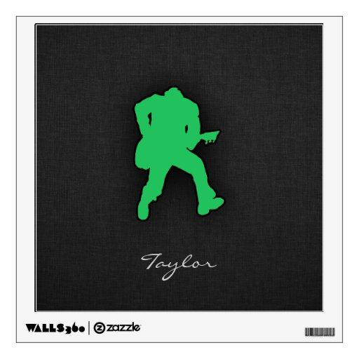Guitarrista verde de Kelly