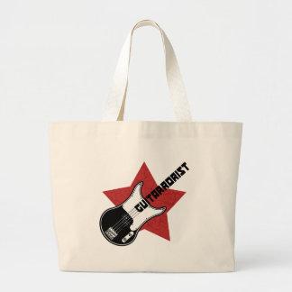 Guitarrorist Tote Bags
