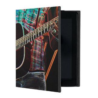 Guitars 1 iPad folio case