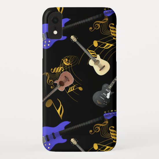 Guitars and Music iPhone XR Case
