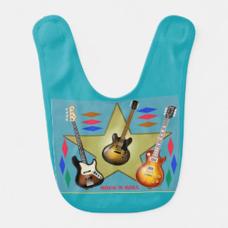 Guitars Baby!!! Bib