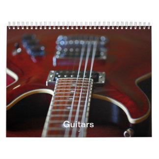 Guitars - Calendar