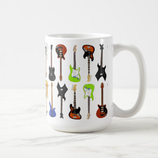Guitars Coffee Mug