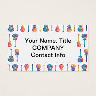 GUITARS Customizable BUSINESS CARDS