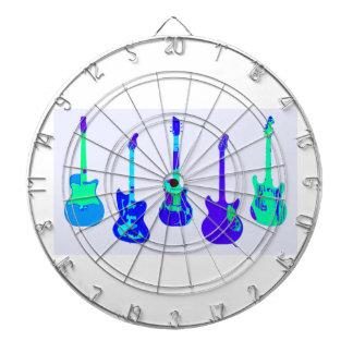 GUITARS GUITARS GUITARS DARTBOARD