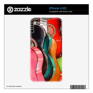 Guitars iPhone 4S Decal