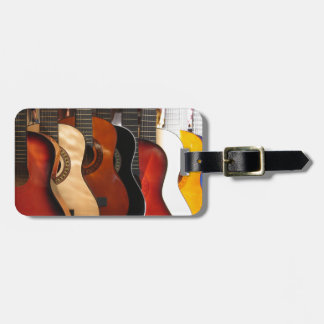 Guitars Luggage Tag
