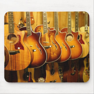 Guitars Mouse Pads