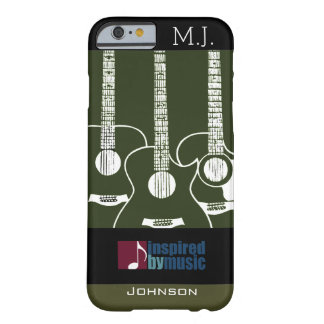 guitars music-inspired graphic barely there iPhone 6 case