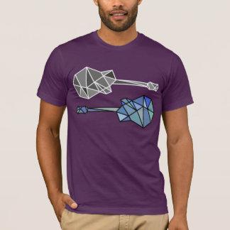 guitars of geometric shapes (triangles) T-Shirt