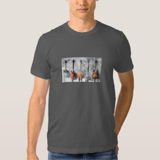 Guitars On The Wall T Shirts