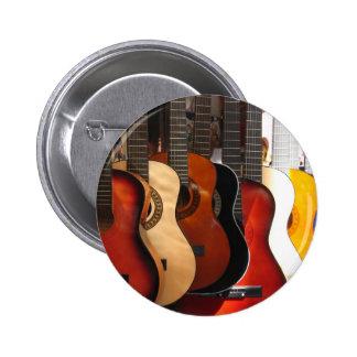 Guitars Pinback Button