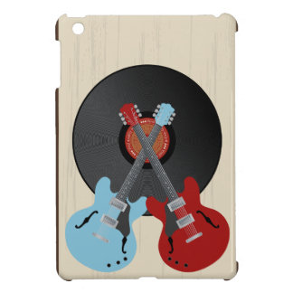 Guitars record iPad mini covers