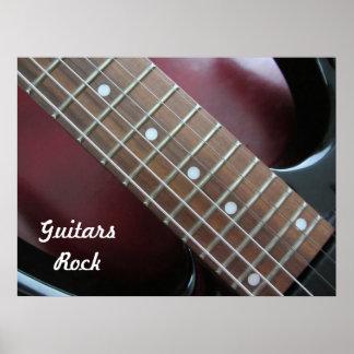 Guitars Rock - Electric Guitar Posters