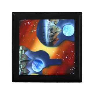 guitars sideways two spacepainting instrument jewelry boxes