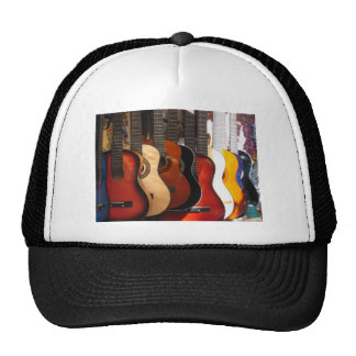 Guitars Trucker Hat