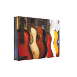 Guitars Wrapped Canvas Stretched Canvas Prints