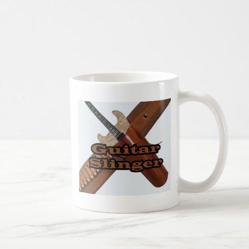 guitarslinger2 classic white coffee mug