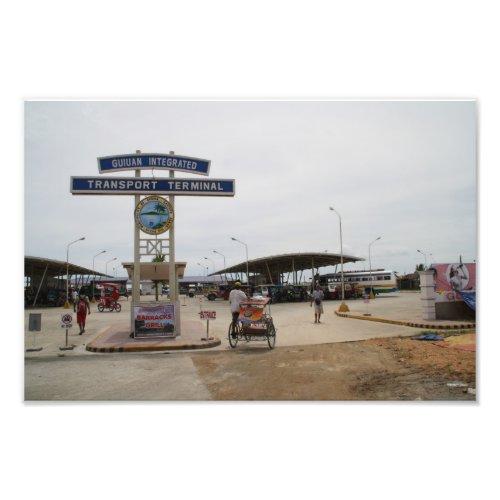 Bus terminal, Guiuan