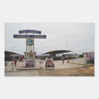 Guiuan bus terminal stickers
