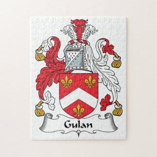 Gulan Family Crest Jigsaw Puzzle