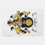 Gulden Family Crest Hand Towels