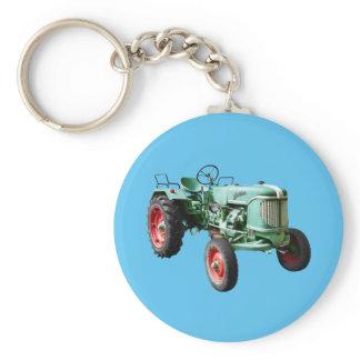Guldner Vintage Tractor Keychain