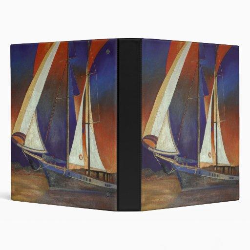 Gulet Under Sail 3 Ring Binder