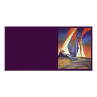 Gulet Under Sail Card