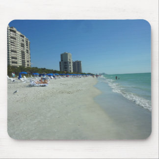 Gulf Beach At Naples Mouse Pad