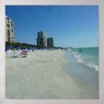 Gulf Beach Naples, Florida Poster