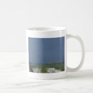 Gulf beach scene coffee mug