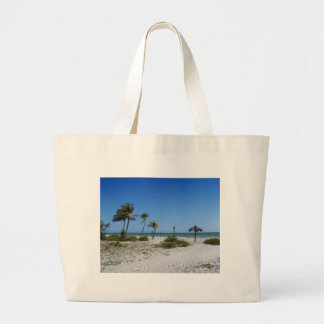 Gulf Breezes Large Tote Bag