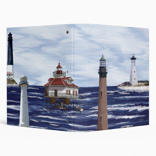 Gulf Coast lighthouses Binder