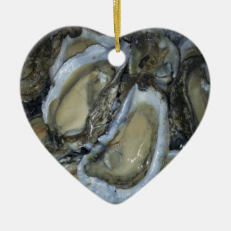 Gulf Coast Oysters Ceramic Ornament