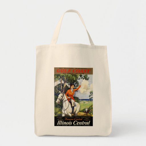 Gulf Coast ~ Panama Limited Canvas Bag