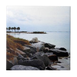 Gulf Coast Paradise 2 Ceramic Tile
