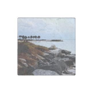 Gulf Coast Paradise 2 Stone Magnet