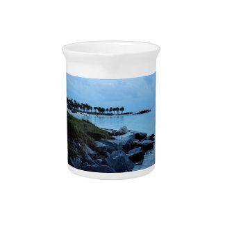 Gulf Coast Paradise 3 Beverage Pitcher