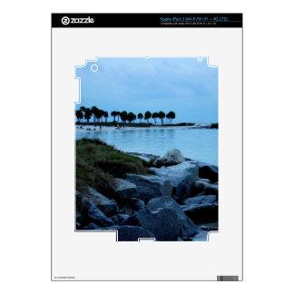 Gulf Coast Paradise 3 Decals For iPad 3