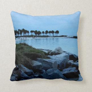 Gulf Coast Paradise 3 Throw Pillows
