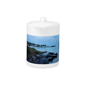 Gulf Coast Paradise 3 Teapot
