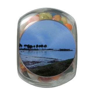 Gulf Coast Paradise Jelly Belly Candy Jar