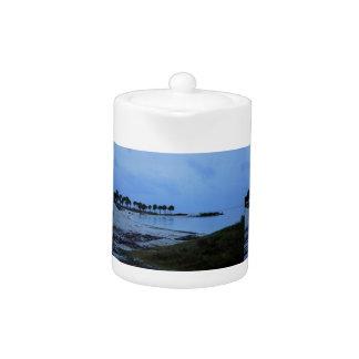Gulf Coast Paradise Teapot