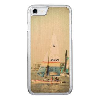Gulf Coast Sailboat Carved iPhone 7 Case