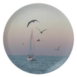 Gulf Coast Sailing plate