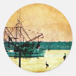 Gulf Coast Classic Round Sticker