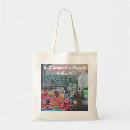 Gulf Coast themed tote bag