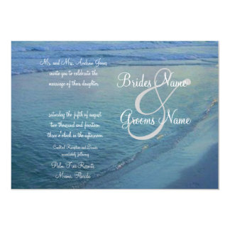 Gulf Coast Wedding Invitation