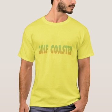 Beach Themed Gulf Coaster beach design T-Shirt